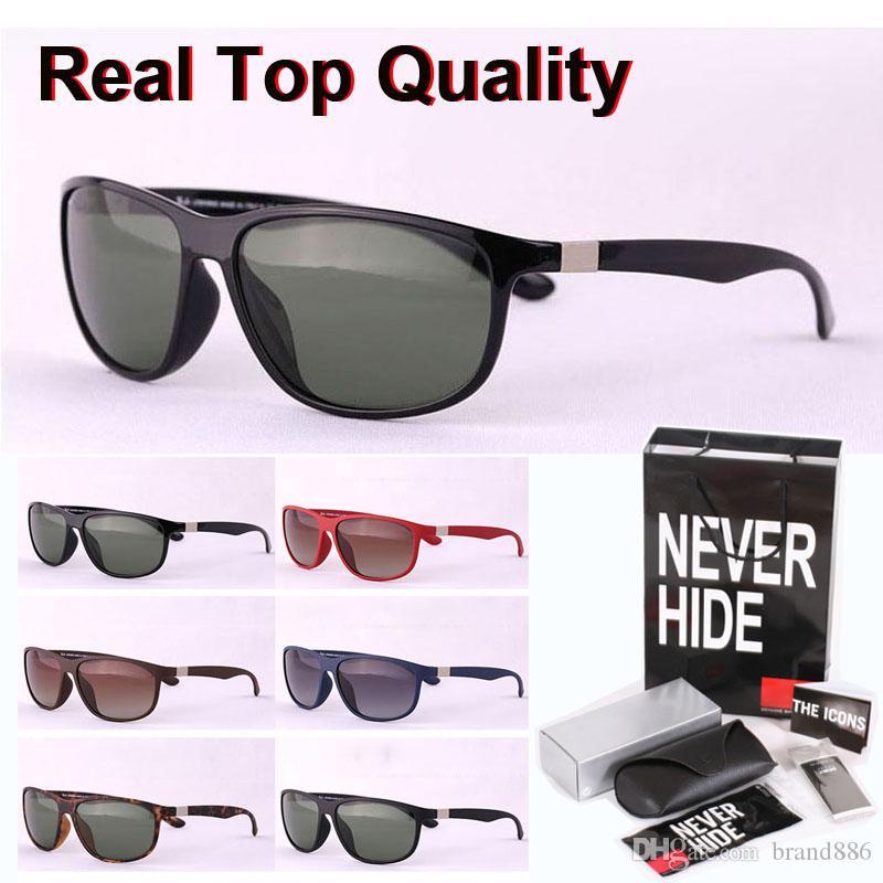 Top qualità (lente polarizzata) 4213 di marca occhiali da sole delle donne degli uomini occhiali da sole Sport Vintage con scatola originale, pacchetti, accessori, tutto!