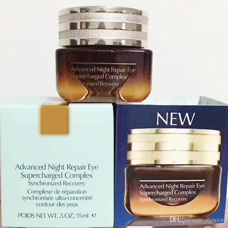 HOT Advanced Night Repair Eye Supercharged Complex Night cream synchronized eye care 15ml Top quality