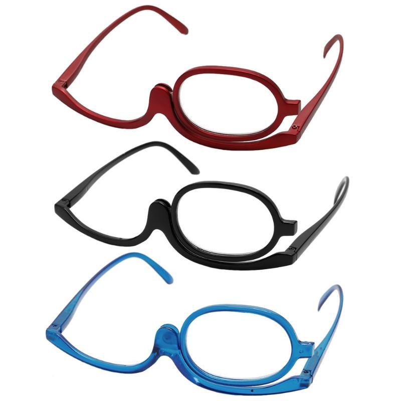 Büyüteçler Makyaj Okuma Cam Katlama Gözlükler Kozmetik Genel
