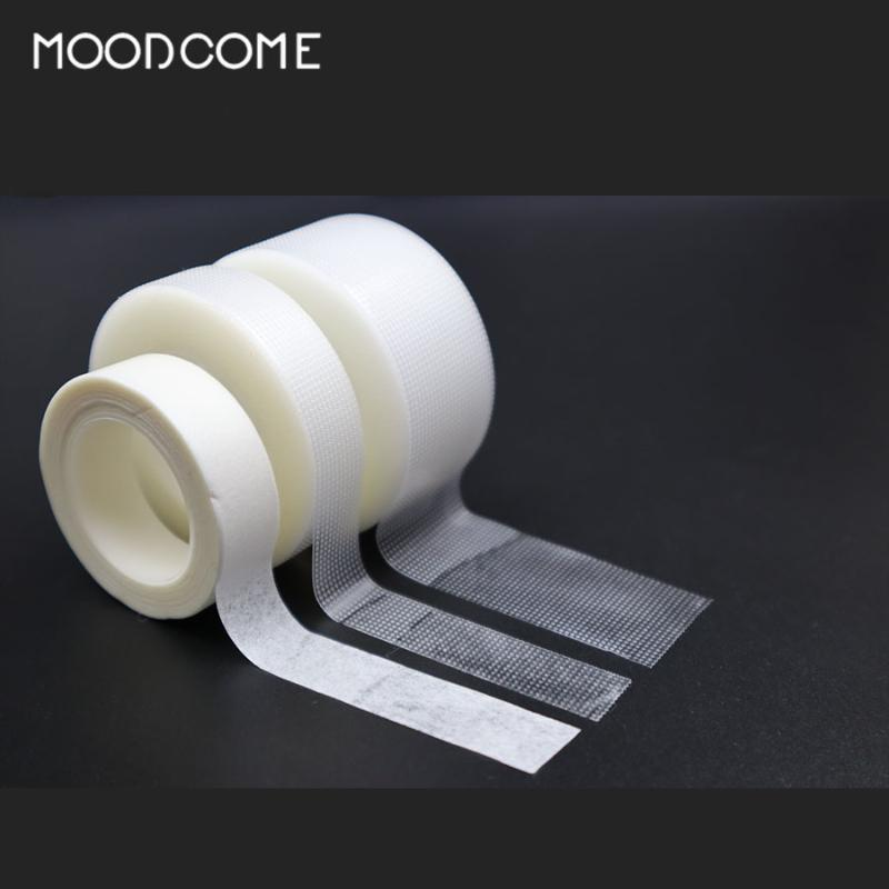 Wholesale 1/5 Pcs Eyelash Extension Professional Waterproof Tape Non-woven Easy To Tear Lint-free White Silk Tape