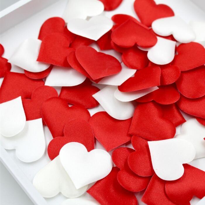 100 Stücke 2 cm Hochzeitsdekoration Herzförmige Konfetti Werfen Blütenblätter Für Hochzeit Ehe Wohnkultur Dekoration Valentinstag Geschenk