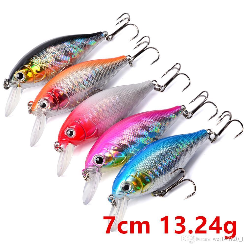 5 اللون 7cm و13.24g الساعد الصيد هوكس الخطافات 6 # هوك الصلب الطعوم الصيد السحر معالجة F-033