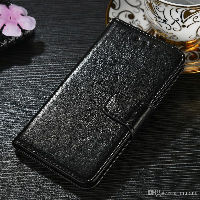 حافظة جلد محفظة لهواتف سامسونج كوبيه بو الجلود جالاكسي جالاكسي A7 2018 S8 S9 S8 + S9 + S10 S10E S10 plus