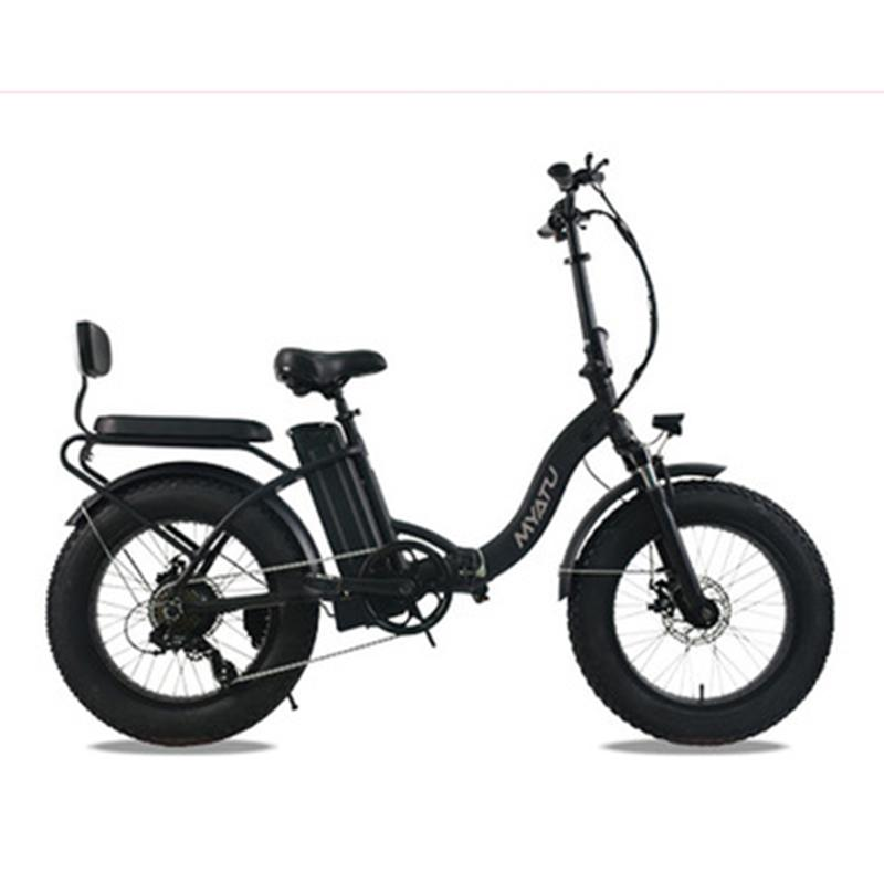 Elektro-Fahrrad myatu 20-Zoll-48V, Elektro-Fahrrad Schnee Motorrad, Lithium-Batterie, Mountainbike