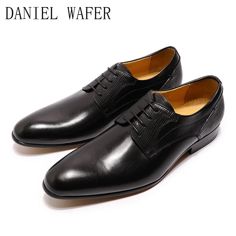 2020 صيفي Mens اللباس الأحذية الجلدية أصيلة المصمم الإيطالي ... ... الأحذية التجارية الرسمية ... ... الرباط حتى حفل الزفاف ...
