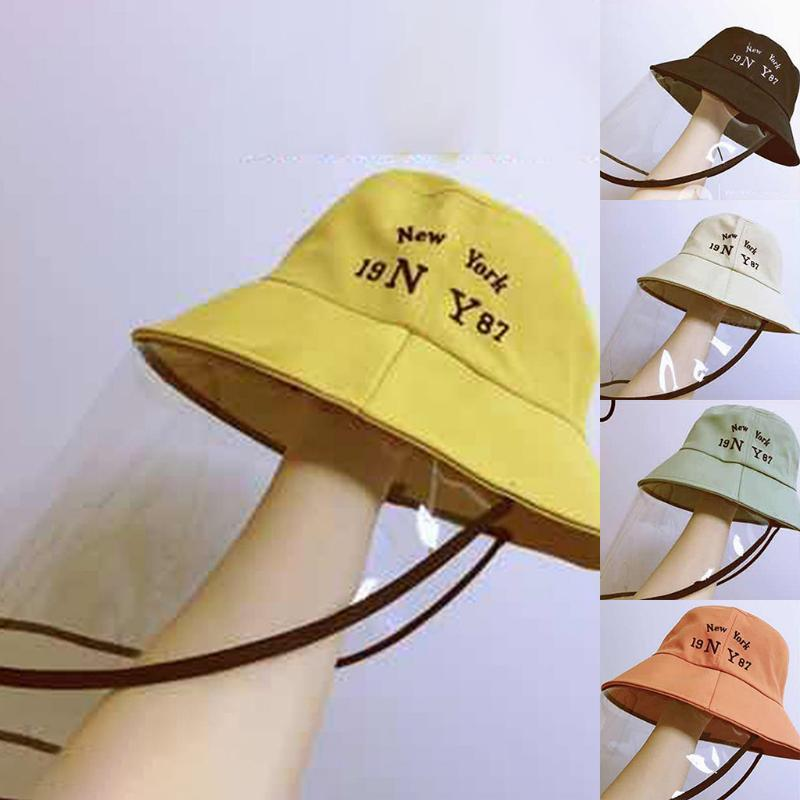 Bucket Hats 2020 New Uniesx Sunscreen Sun Caps Children's Printed Letter Fisherman's Hat Fast shipping Hats Dropshipping ##6