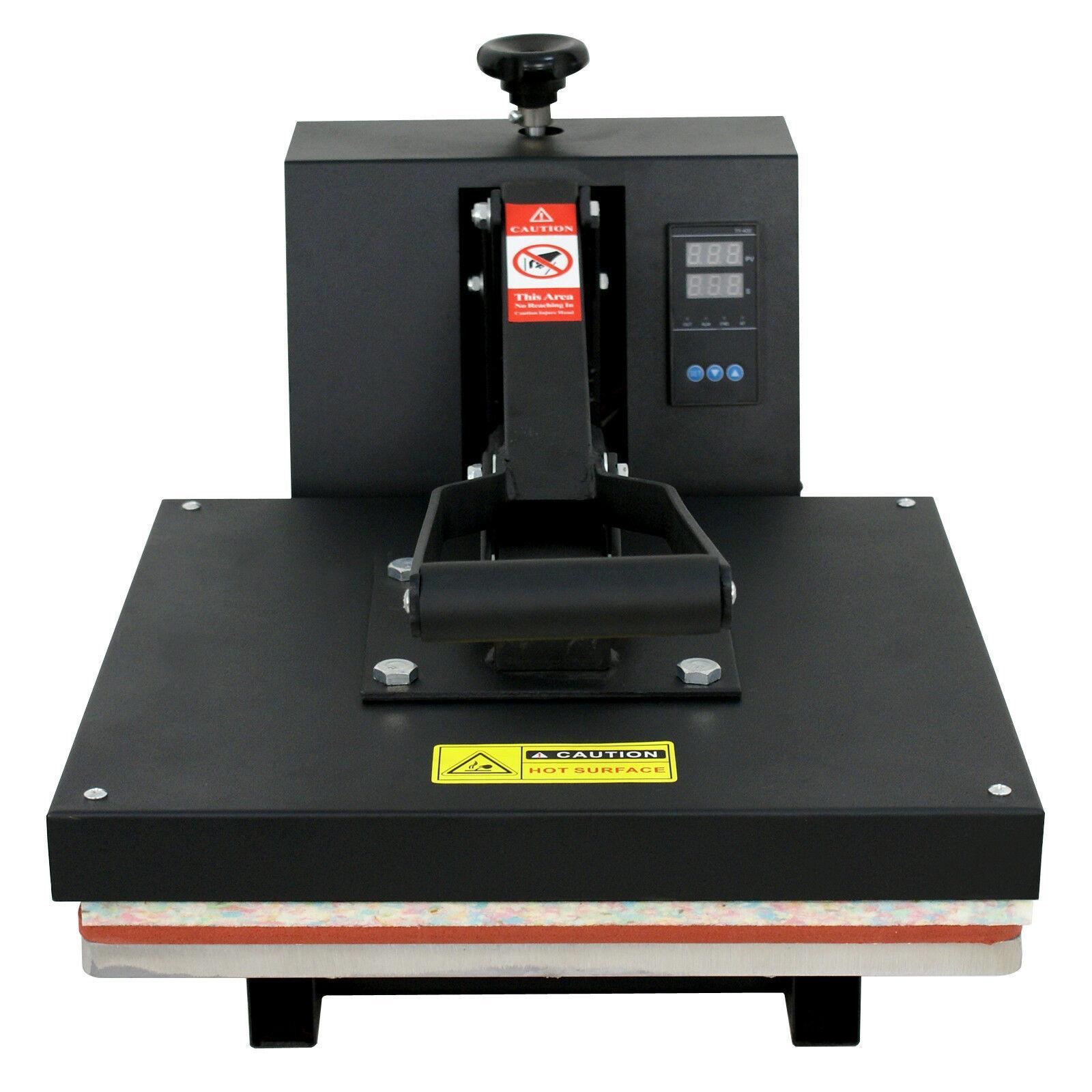 15X15 بوصة قابلة للثني الحرارة الصحافة آلة تي شيرت نقل الرقمية التسامي