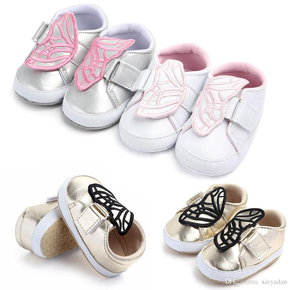 2019 New Arrival Fashion Winter Plush for Newborns Moccains Shoes First Walkes for Boys and Girls Hard Soles Shoes PU Shoes In Stock
