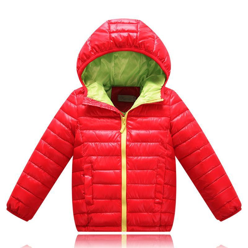 2019 New Spring bambini cappotto di autunno dei bambini del rivestimento Capispalla Ragazzi Infant Cappotti vestiti del bambino ragazze leggero Giù cotone Abbigliamento