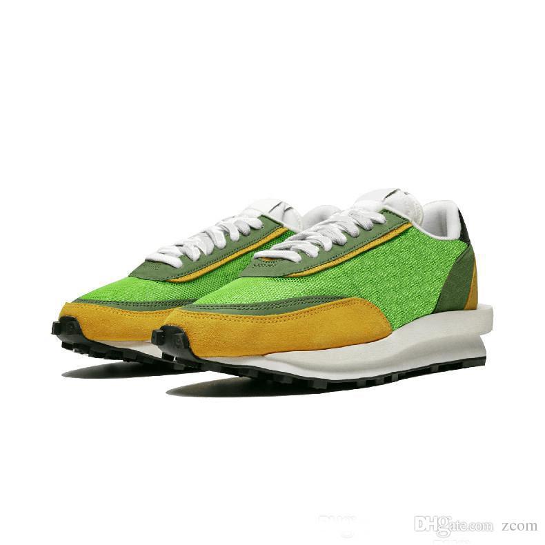 SOUS-COUVERT REAGIR x Sacai LDV Gaufre Chaussures De Course Femmes Hommes Designer Baskets Scarpe des Chaussures Marque Mode 2019 Baskets