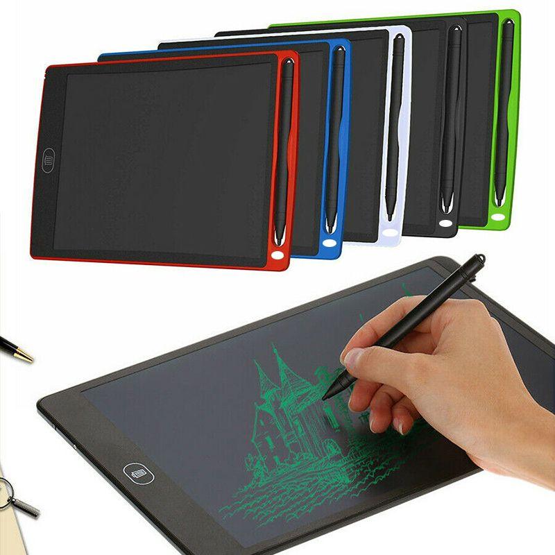 Fábrica Empate com diversão e Magic Light Drawing 8,5 polegadas Doodle Drawing Pad Board LCD Writing Tablet com botão Excluir fo