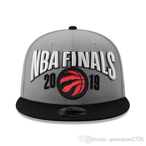 2019 Raptors Finals Vestiário Snapback Hat Cap