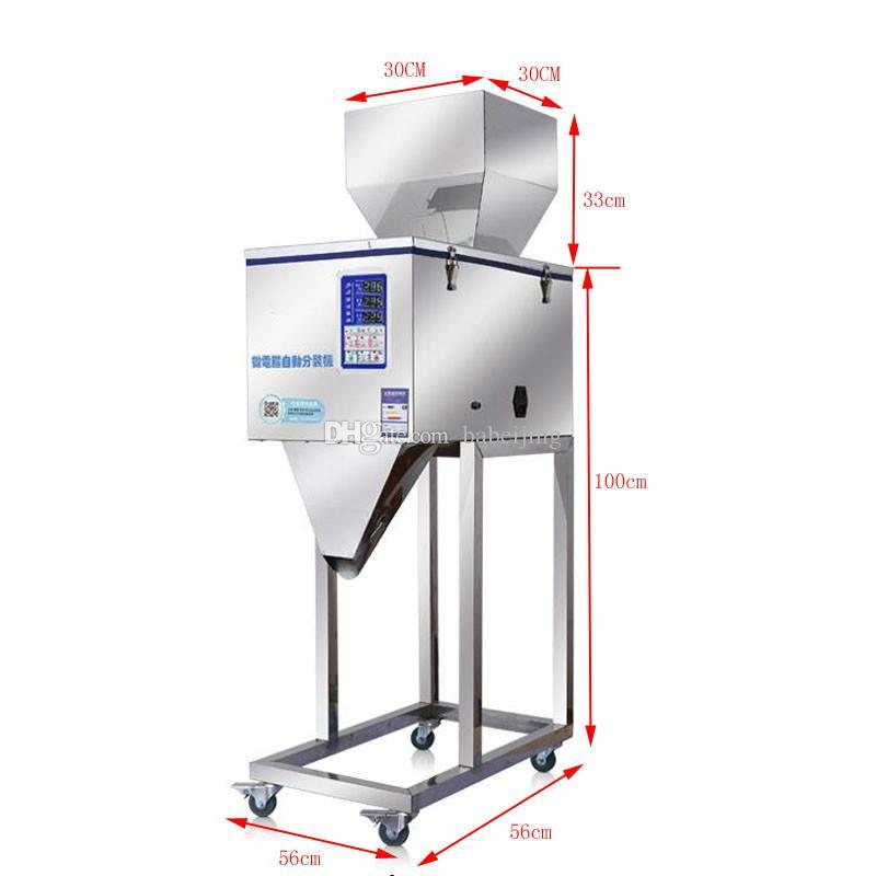 50-3000g Большого автомат розлива для муки зернового семенного чая винтового пищевой упаковки машины кофе в зернах кошки
