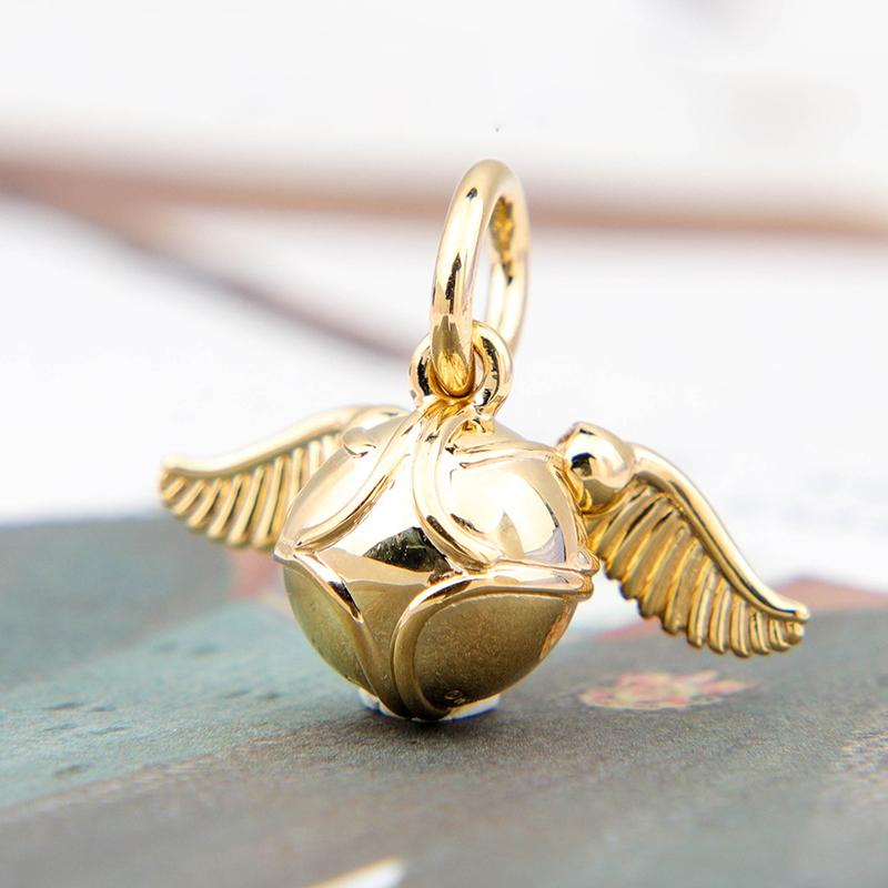 2020 uscita S925 Sterling Silver Harry Potter ciondolo spia perline fascino Adatto collana dei braccialetti Pandora europea