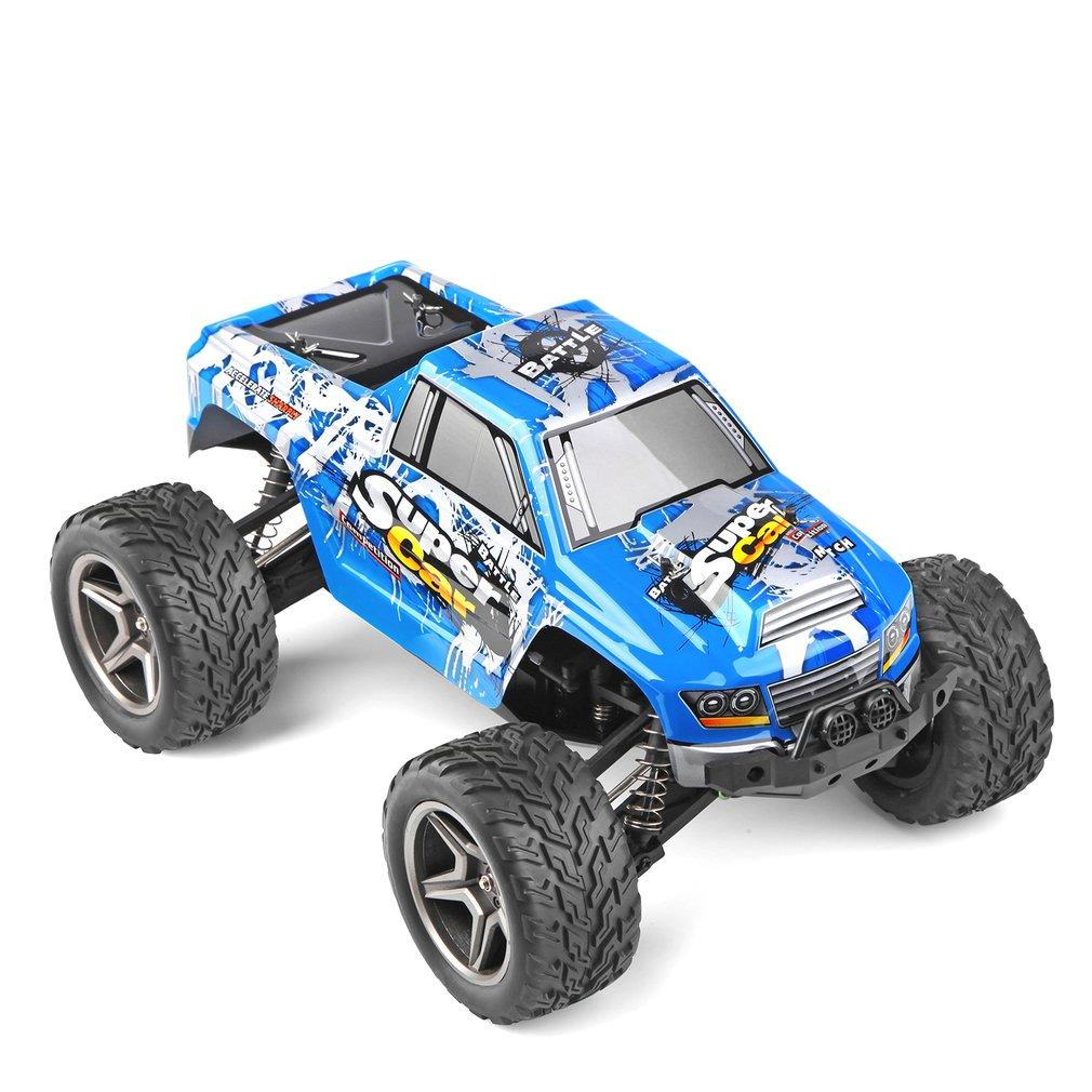 wholesale 12402 1/12 2.4G 4WD rc Car 45km/h High Speed Waterproof Bigfoot Off-road RC Cars Buggy Toys RC Vehicle Model Kid Boy Gift