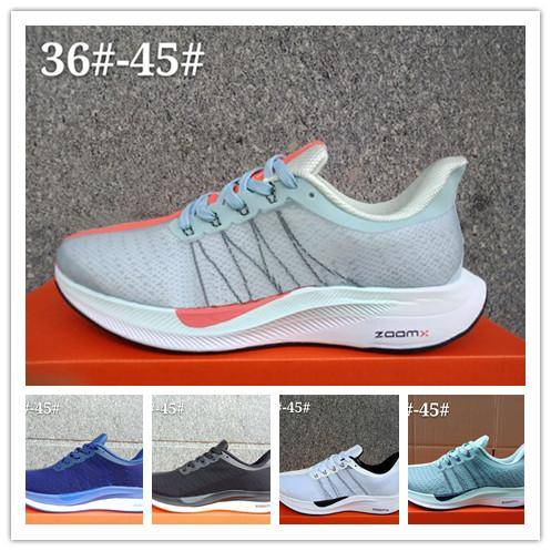 35 2019 Zoom Pegasus Turbo Barely Grey Punch Black White Running Shoes For Men Women Reatc ZoomX Pegasus 35 Trainers Sneakers Shoes 36 45 Running Shop