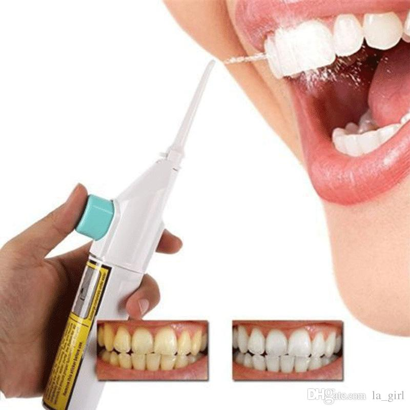 Portable Cordless Water Flosser Oral Irrigator Air Pressure Teeth Whitening Tooth Cleaner for Travel and Home Use