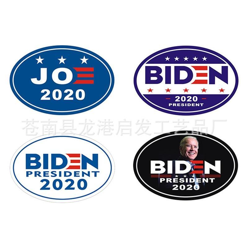 D2 5qf ABD Başkanlık Aday Joe Biden Fayans Oval Araba Vücut Çıkartma dolabı Mıknatıslar Ev Diy Yumuşak Manyetizma 2