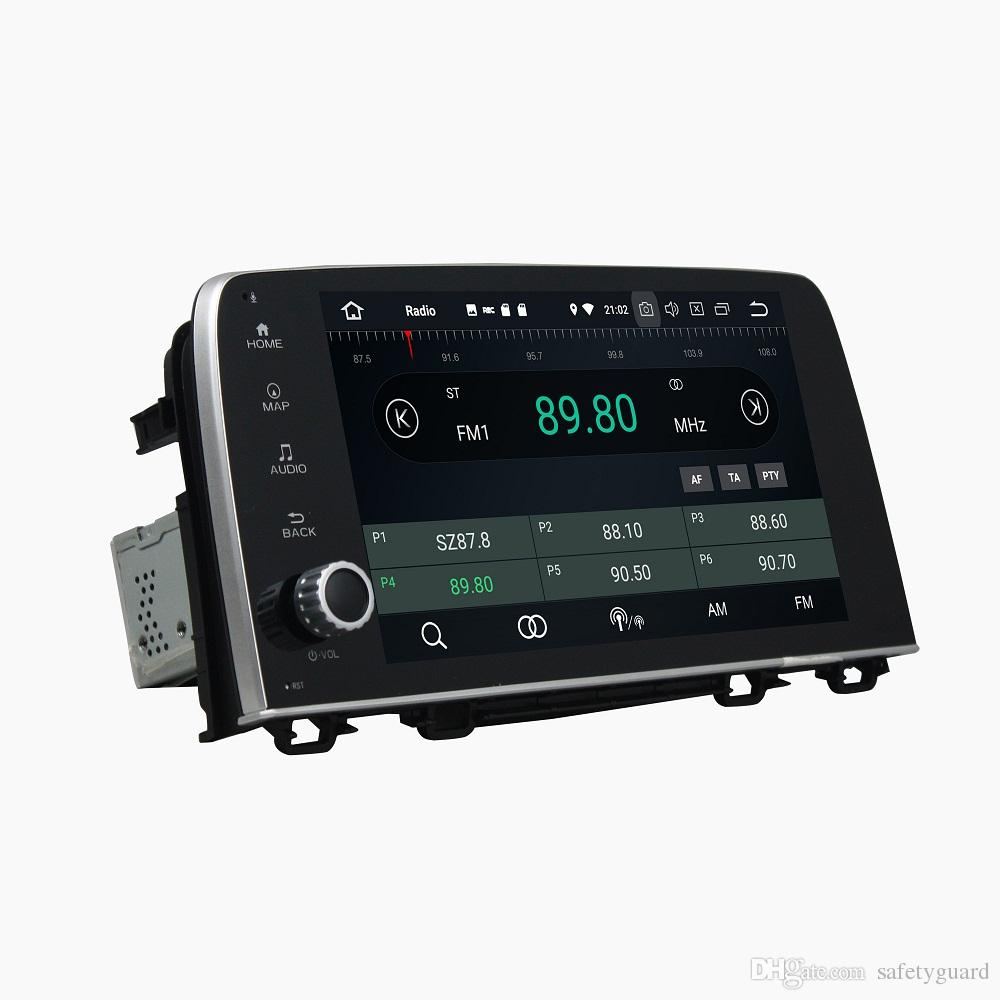 "Octa Core 1 din 9"" Android 8.0 Car DVD Player for Honda CRV CR-V 2017 Car RDS Radio GPS Audio WIFI Bluetooth USB DVR 4GB RAM 32GB ROM"