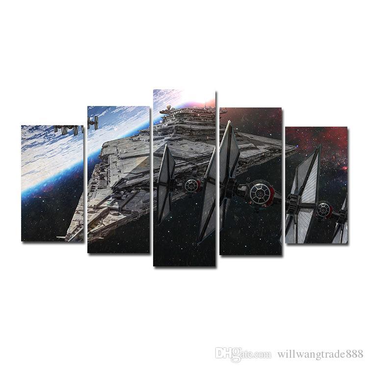 Satin Al 5 Adet Kombinasyonlari Hd Fantasy Uzay Gemisi Uzay Araci