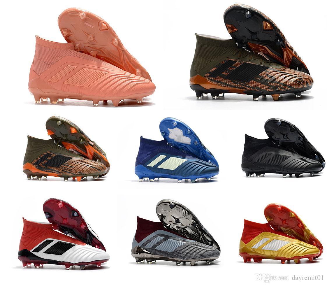 2020 zapatos de fútbol Neymar Predator X FG Pogba Acelerador DB Niños Hombres Mercurial Superfly FG fútbol grapas del Real Madrid Formadores diseñador