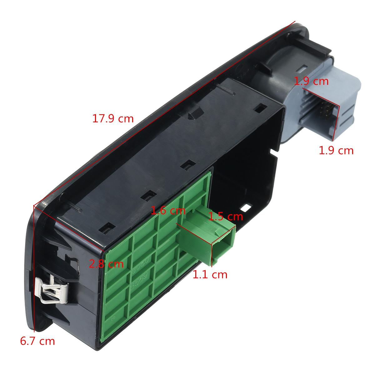 NEW Electric Window Switch 6490X9 For Relay Jumper Boxer Ducato