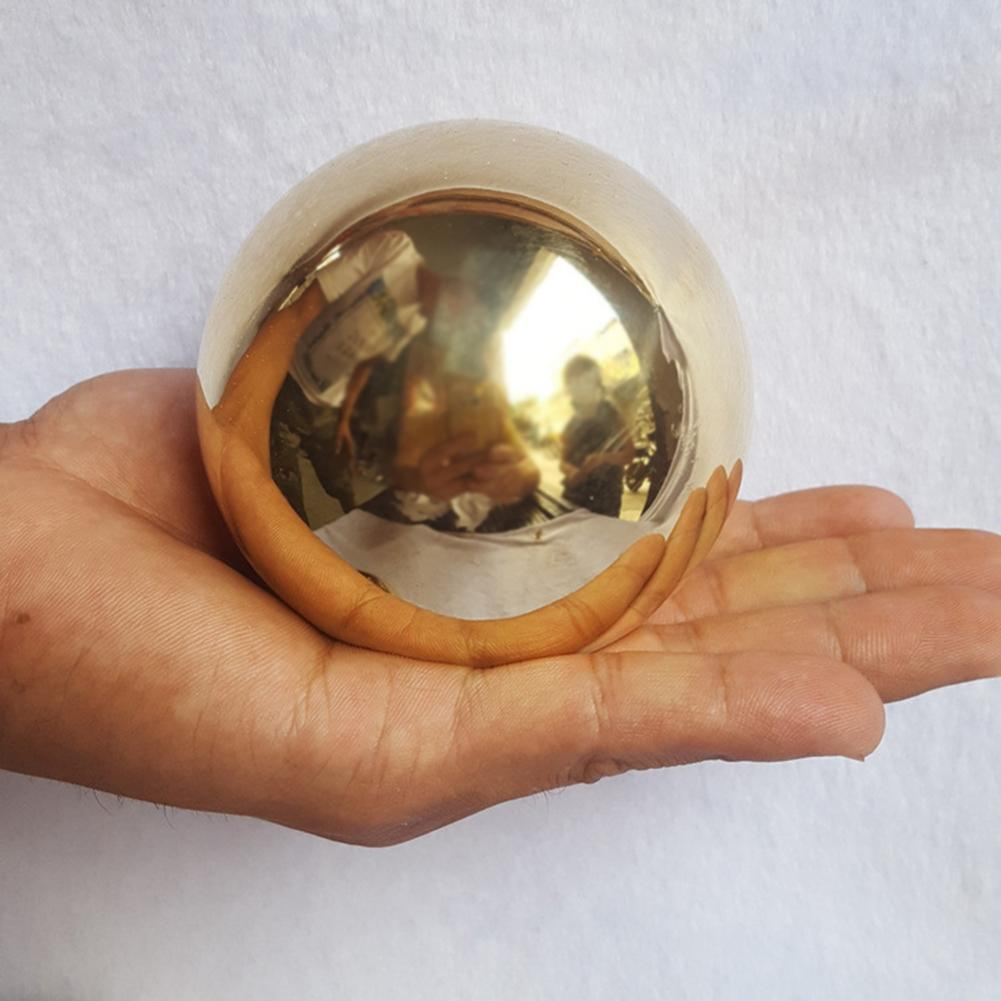 Decorazioni 25-350mm in acciaio inox titanio oro del nastro della sfera della cavità senza saldatura homegarden decorazioni specchio della sfera della sfera del partito