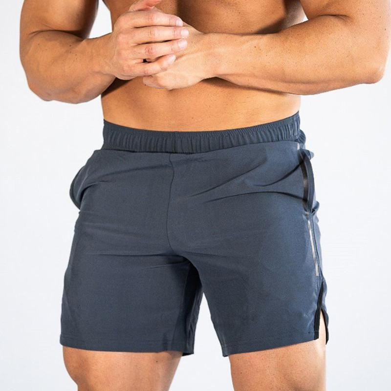 Short Fitness Shorts d'été Hommes Hommes Body Building Hommes Gym Jogging Pantalons de sports Course à pied Shor