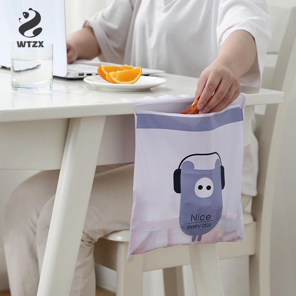 15pcs creativi / sacco sacco della spazzatura ecologico degradabile monouso Home / Car sacchi per la spazzatura sacchetto di pulizia Stivaggio Riordino 31 * 24,5 centimetri