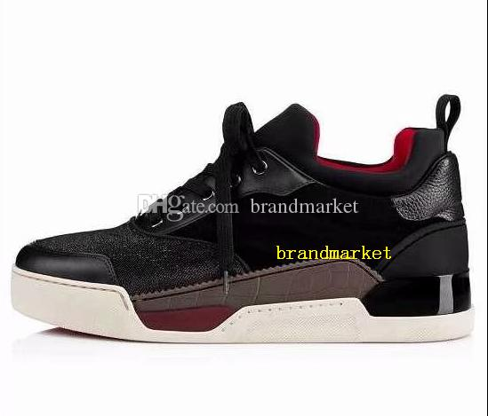 Designer Shoes Fashion Mixed Colors Low Cut Red Black Party Wedding Shoes Drop Shipping New Designer Plaid Sneaker Man Casual Shoes