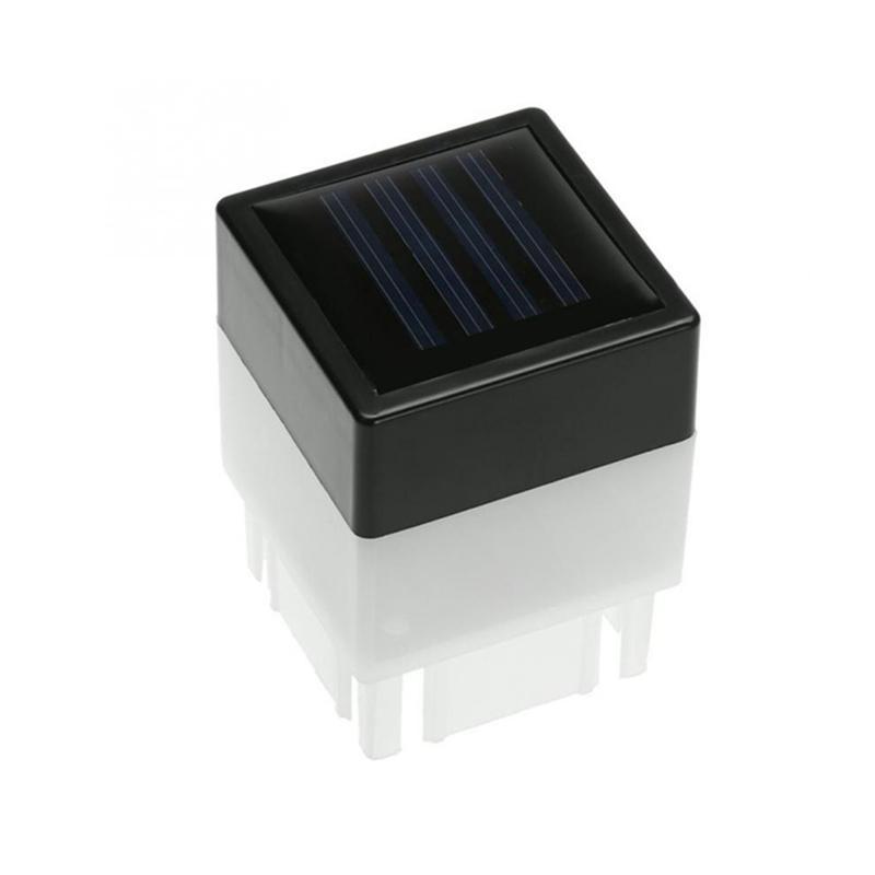Ao ar livre Solar Post Cap Luz Solar Powered Pillar Light 50mm À Prova D 'Água Postal Postal Luz LED HIQQH Qualidade Cerca Piscina Lâmpada de Rua