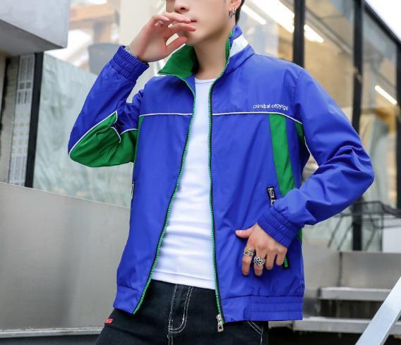 Giacche da uomo 2021 Versione coreana Primavera Autunno Autunno Moda Sport Giacca Casual Casual Slim Cover Lettera Maglietta Maglia