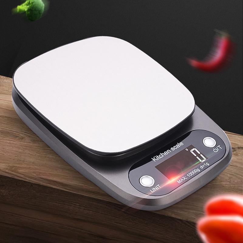 Escala del alimento 0,1 gramos, peso de la cocina digital para cocinar y hornear, con retroiluminación de pantalla, grandes Otras herramientas de cocina