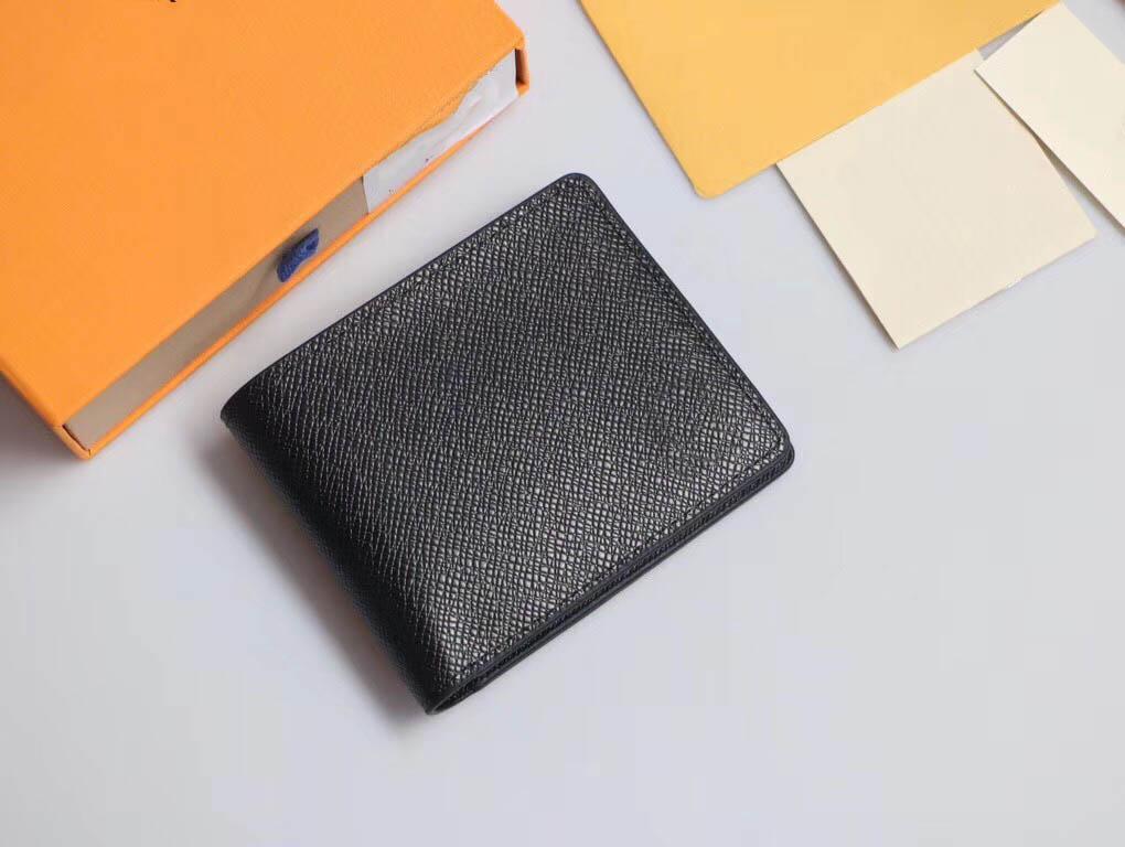 Adam Moda İnce Para Çanta Cep Bag Klasik Siyah Hakiki Deri Kredi Kart Sahibi Cüzdan Kartı Vaka Cüzdan L60895 mens