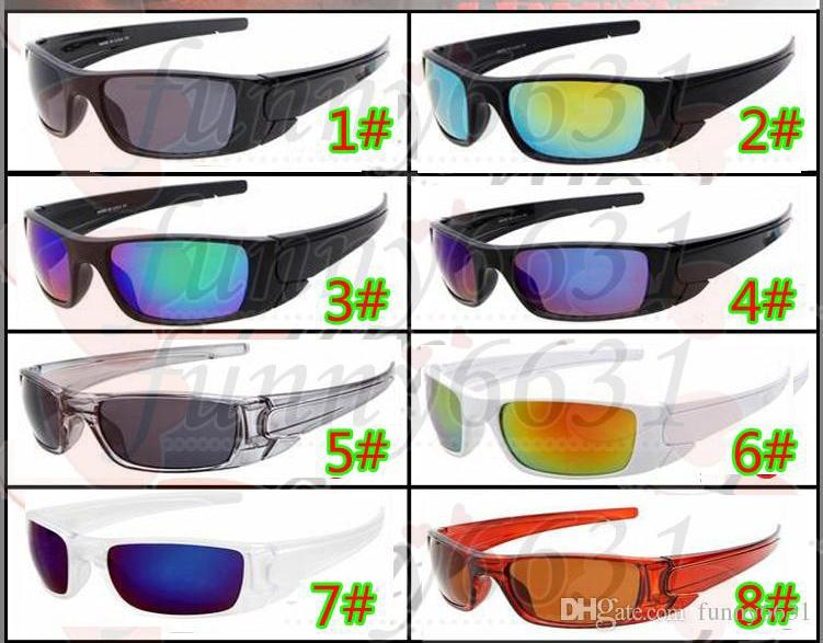 MOQ=10PCS man SOutdoor cycling glasses Dazzle colour lens woman full frame beach driving Sun Glasses Eyeglasses Eyewear free shipping