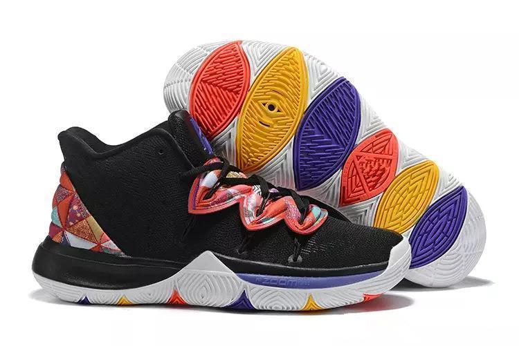 Yeni Ücretsiz Kargo Yeni Kyrie Satış En kaliteli Kyrie Irving Mağazası Erkek Spor Kyrie 5 Sneakers Boyut 7-12 Gemi için 5 Black Magic Açık Ayakkabı