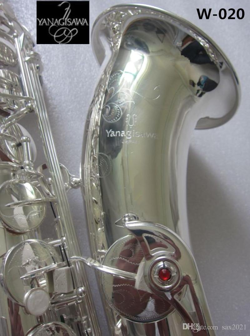 اليابان yanagisawa silveri ساكسفون تينور الآلات الموسيقية عالية الجودة شقة ب yanagisawa W-020 ساكس الموسيقى المعبرة مجانية