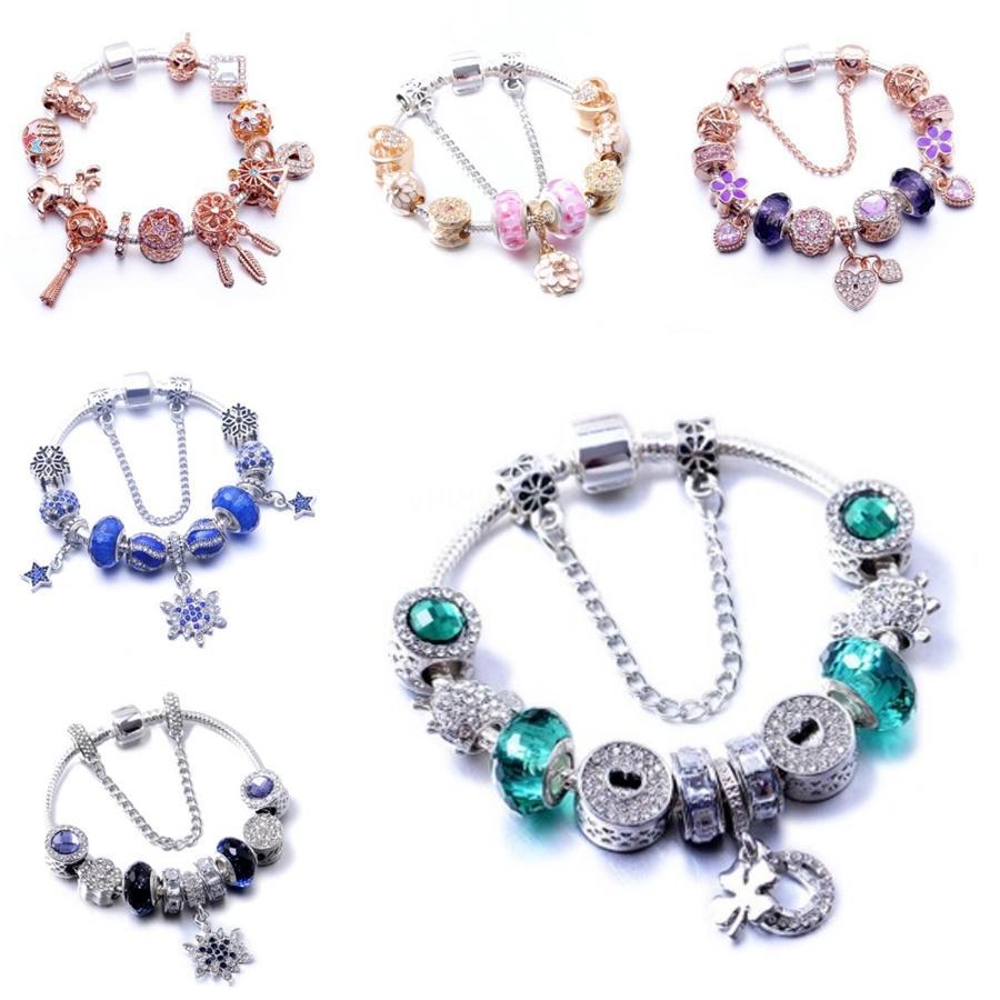 Strang-Armbänder Light Blue Naturstein streche Armband elastische Pulserase Bijoux Frauen Fashion Jewelry Beads Erstellt Anhänger Diy Runde # 812