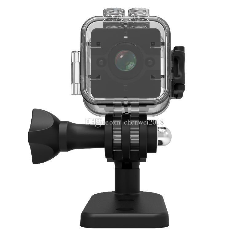 Full HD 1080P Wide Angle Sensor Night Vision Mini camera SQ12 Waterproof Mini sports DV DVR Motion detection video Recorder Camcorder