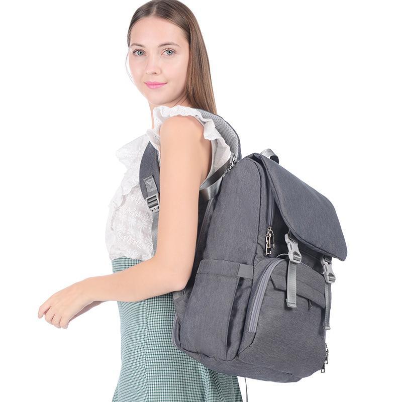 Nuovo stile multifunzionale sacchetto casuale DELLA MADRE di grande capienza impermeabile spalla Diaper Bag in stile coreano mamma e bambino Storgage