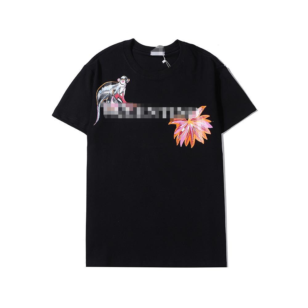 Yeni Tasarımcı Erkek Kadın Gömlek Yaz Moda Lüks tişört Erkekler Kadınlar Kısa Kollu Marka Üst Tees Harf Baskılı Erkek Streetwear 20051102D
