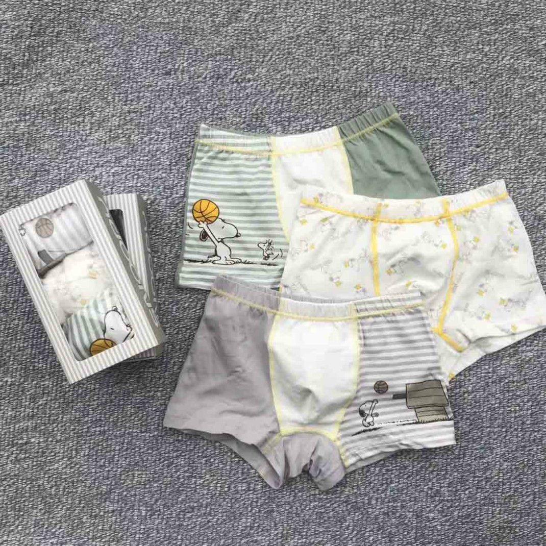 Boys Underwears Children Designer Panties Kids Cartoon Print Boxers 2020 Fashion Style Boys Brand Casual Underwear Hot Sale