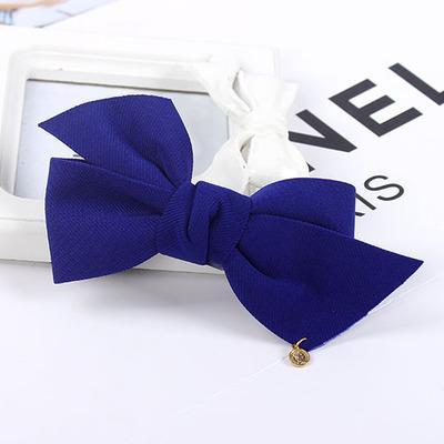 Faddish trend korean style women cute elegant hair clip wholesale china supplier bow hair accessories custom