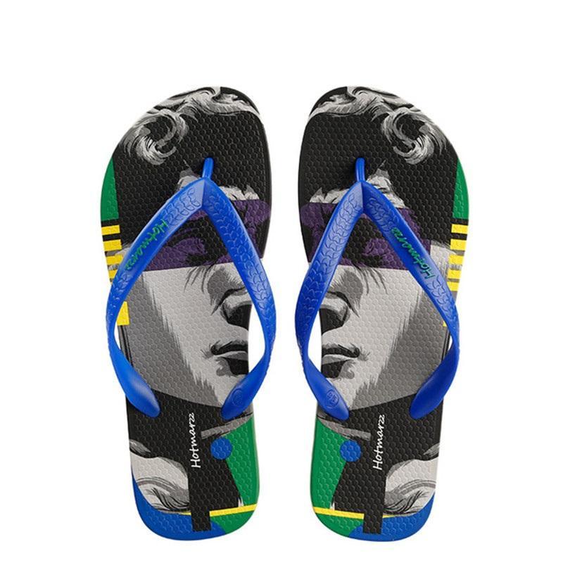 Neue Sommer-Männer Flip Flops Male Slippers Männer Freizeitschuhe Summer Fashion Strand Sandalen Schuhe Hombre