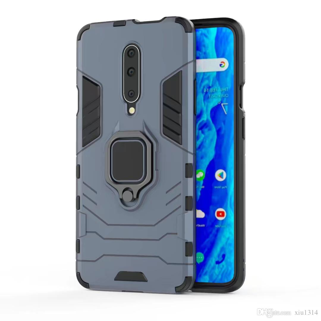 Hybrid Rugged Shockproof Phone Case For Oneplus 8T Nord 8 8Pro Armor Car Holder Ring Cover For Oneplus 7T Pro 7 7Pro