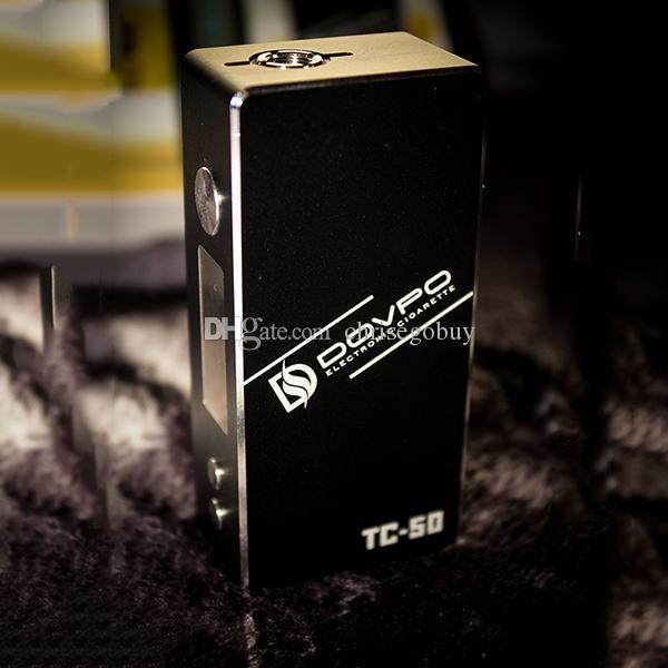 Mod Box 100% Originale Dovpo TC-50 Mod Variable TC50 7-50w Mods VS zelos sigelei 50w vr2 vapor storm mini subox nano VT75C ECT Traveller