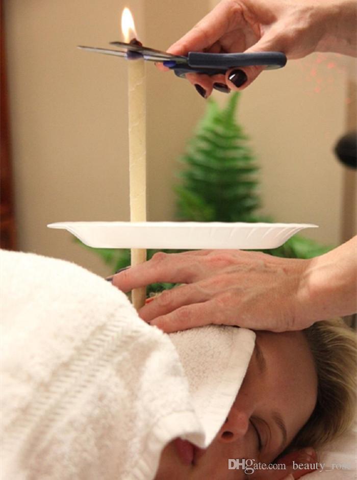 atural Ear Candle Pure Bee Cera Termo Terapia Auricular Estilo Recto Indiana Fragancia Candling Cilindro Para Cuidado de los Oídos