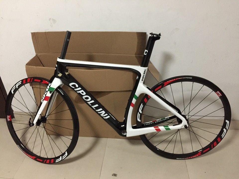 Champion du monde Disque Cipollini NK1K Carbon Road Vélo Cadre de vélo XS S M L + FFWD 38mm Wheelset de carbone