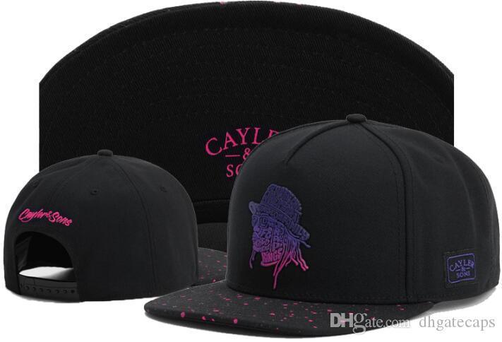 Горячей Продажа Люкс Snapback Caps Cayler Sons Мужчина Конструкторы Hat Мода Спорт Casquette Gorras Caps бейсболки для мужчин женщин