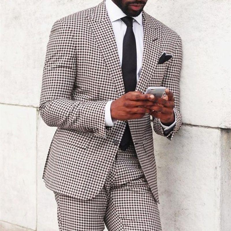 2017 Groom Groomsmen Mens Suits Wedding Party Tuxedos For Men Stage Dinner Wear Best Man Suit Blazer (jacket+pants+tie) C19041602